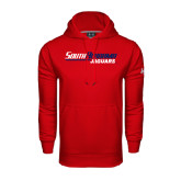 Under Armour Red Performance Sweats Team Hood-South Alabama Jaguars