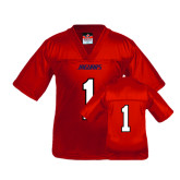 Youth Replica Red Football Jersey-#1