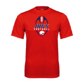 Performance Red Tee-Jags Football Tall