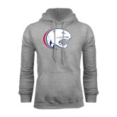 Grey Fleece Hoodie-Jag Head