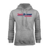 Grey Fleece Hood-South Alabama Jaguars