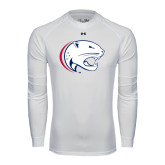 Under Armour White Long Sleeve Tech Tee-Jag Head