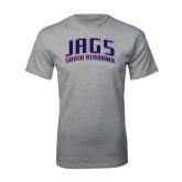 Grey T Shirt-Jags South Alabama Arched