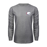Grey Long Sleeve T Shirt-Jag Head