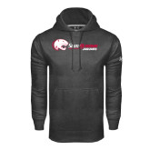Under Armour Carbon Performance Sweats Team Hood-Jaguar Head w/ Flat Logo