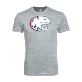 Next Level SoftStyle Heather Grey T Shirt-Jag Head