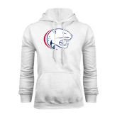White Fleece Hoodie-Jag Head