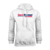 White Fleece Hoodie-South Alabama Jaguars