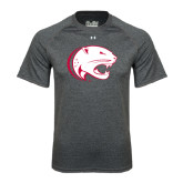 Under Armour Carbon Heather Tech Tee-Jag Head