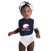 Navy Baby Bib-Official Logo