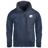 Navy Charger Jacket-Jag Head