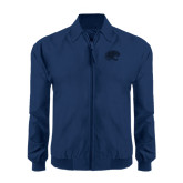Navy Players Jacket-Jag Head