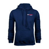 Navy Fleece Hoodie-South Alabama Jaguars