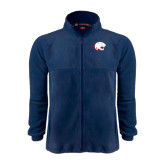 Fleece Full Zip Navy Jacket-Jag Head