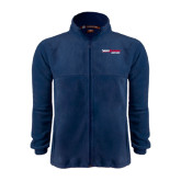 Fleece Full Zip Navy Jacket-South Alabama Jaguars