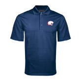 Navy Mini Stripe Polo-Jag Head