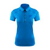 Ladies Ogio Sapphire Blue Pleated Back Polo-Jag Head