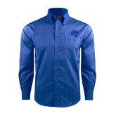 Red House French Blue Dobby Long Sleeve Shirt-Jag Head
