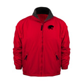Red Survivor Jacket-Jag Head
