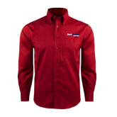 Red House Red Long Sleeve Shirt-South Alabama Jaguars