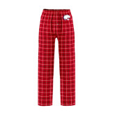 Red/Black Flannel Pajama Pant-Jag Head