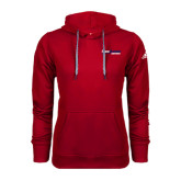 Adidas Climawarm Red Team Issue Hoodie-South Alabama Jaguars