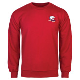 Red Fleece Crew-Official Logo