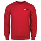 Red Fleece Crew-South Alabama Jaguars