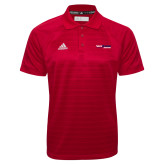 Adidas Climalite Red Jaquard Select Polo-South Alabama Jaguars