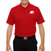 Under Armour Red Performance Polo-Jag Head