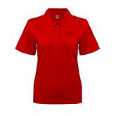 Ladies Easycare Red Pique Polo-Jag Head
