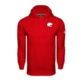 Under Armour Red Performance Sweats Team Hoodie-Jag Head