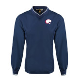 Navy Executive Windshirt-Jag Head