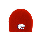 Red Knit Beanie-Jag Head
