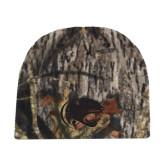Mossy Oak Camo Fleece Beanie-Jag Head