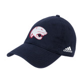 Adidas Navy Slouch Unstructured Low Profile Hat-Jag Head