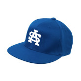 Royal OttoFlex Flat Bill Pro Style Hat-SA Baseball Logo