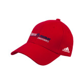 Adidas Red Structured Adjustable Hat-South Alabama Jaguars