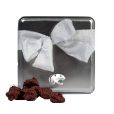 Decadent Chocolate Clusters Silver Medium Tin-Jag Head Engraved