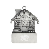 Pewter House Ornament-Jag Head Engraved