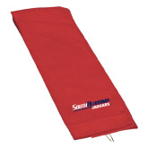 Red Golf Towel-South Alabama Jaguars