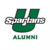 Alumni Decal-Spartans U, 6 in W