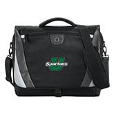 Slope Black/Grey Compu Messenger Bag-Spartans U