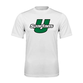 Performance White Tee-Spartans U