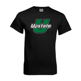 Black T Shirt-Upstate U