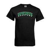 Black T Shirt-Upstate Spartans