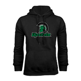 Black Fleece Hoodie-Upstate w/Spartan Head