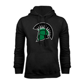 Black Fleece Hoodie-Spartans Head