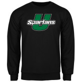Black Fleece Crew-Spartans U