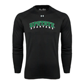 Under Armour Black Long Sleeve Tech Tee-Upstate Spartans